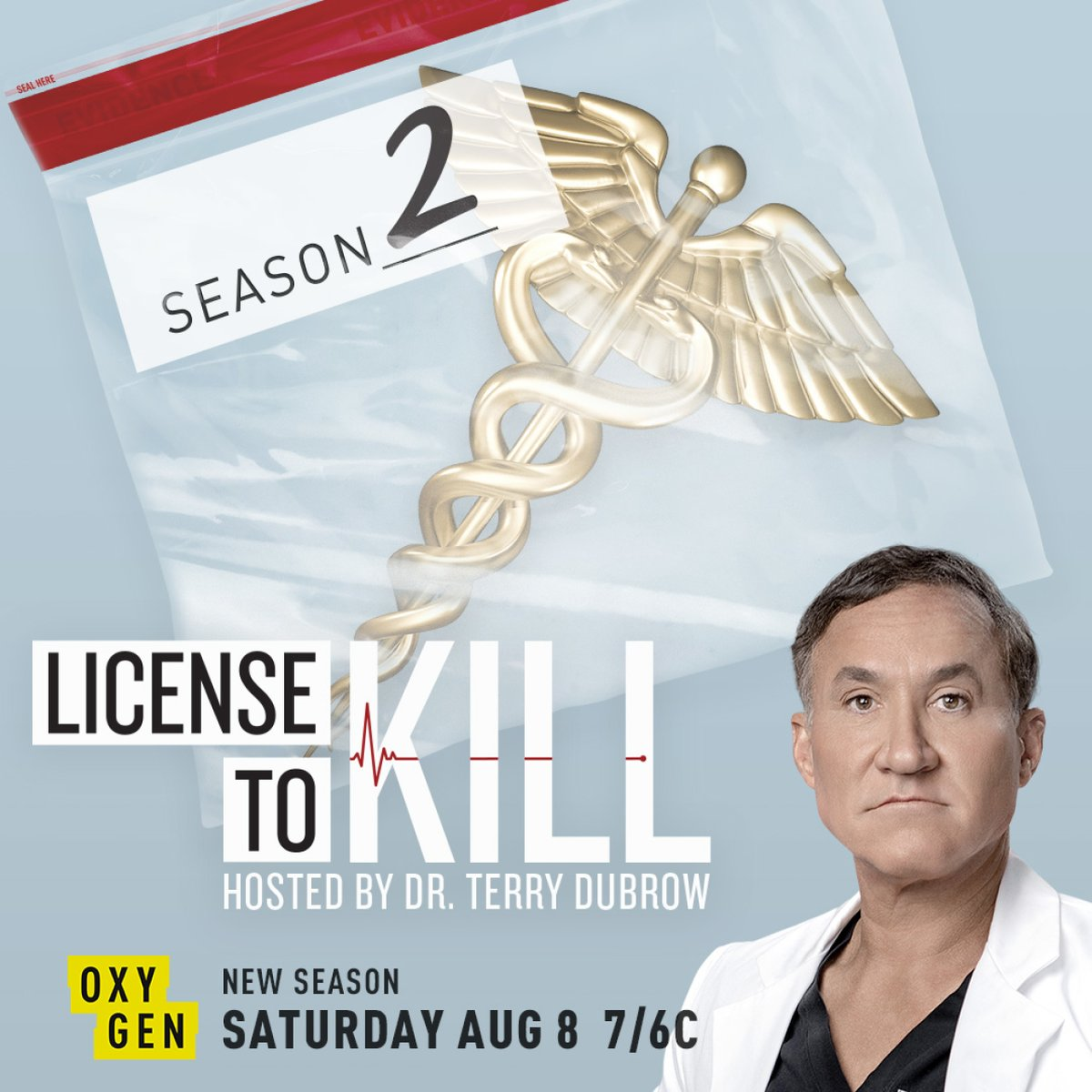 #LicenseToKill is BACK this summer with all-new episodes! Don't miss the premiere Saturday, August 8 at 7/6c, only on @Oxygen.
