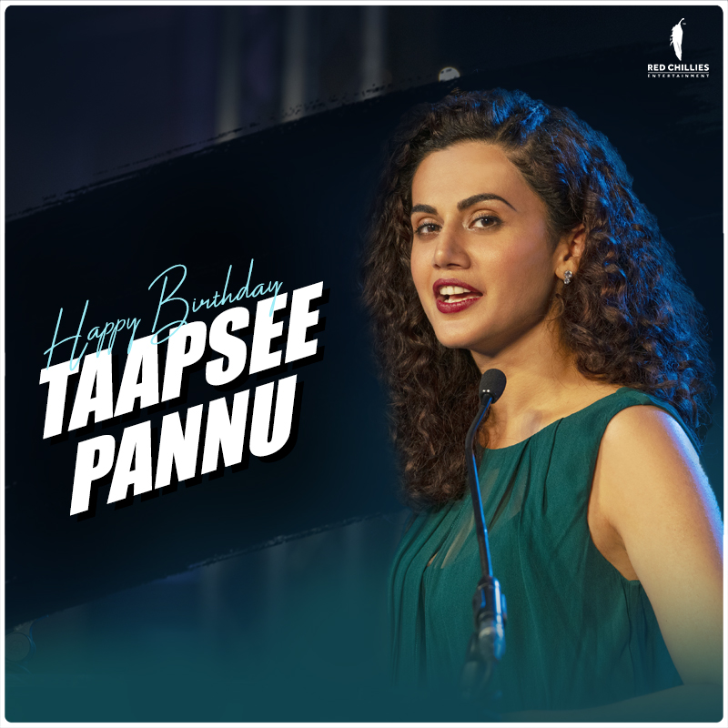 A very happy birthday to the bold, beautiful and uber-talented, @taapsee! 🤗 #HappyBirthdayTaapseePannu