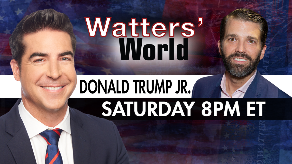 TOMORROW: The son of The President of The United States was suspended on Twitter for sharing a video that challenged the democrats Coronavirus narrative. @DonaldJTrumpJr is in Watters' World to tell all. Don't miss a must-see Watters' World tomorrow on #FoxNews 8PM ET.