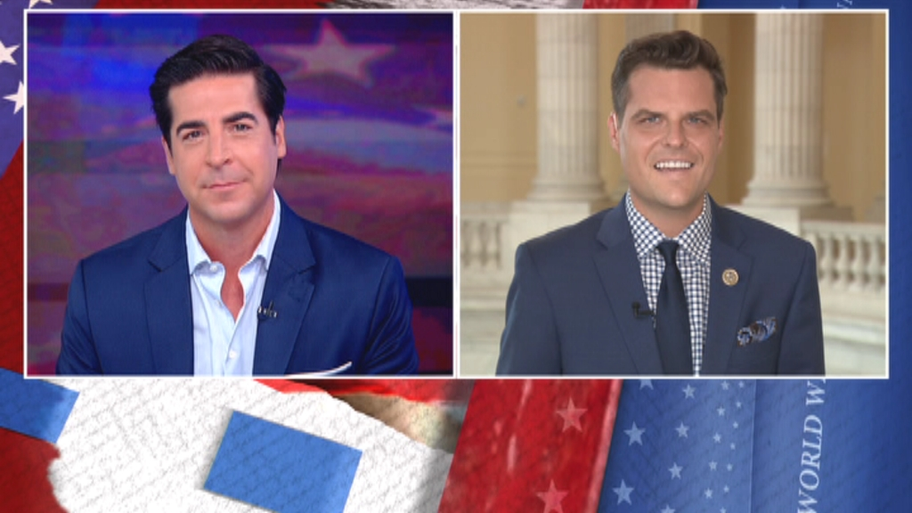 Big tech CEOs under fire on Capitol Hill facing tough questions about social media censorship. @RepMattGaetz is in Watters' World to break down this week's hearing, tonight. #FoxNews 8PM ET.