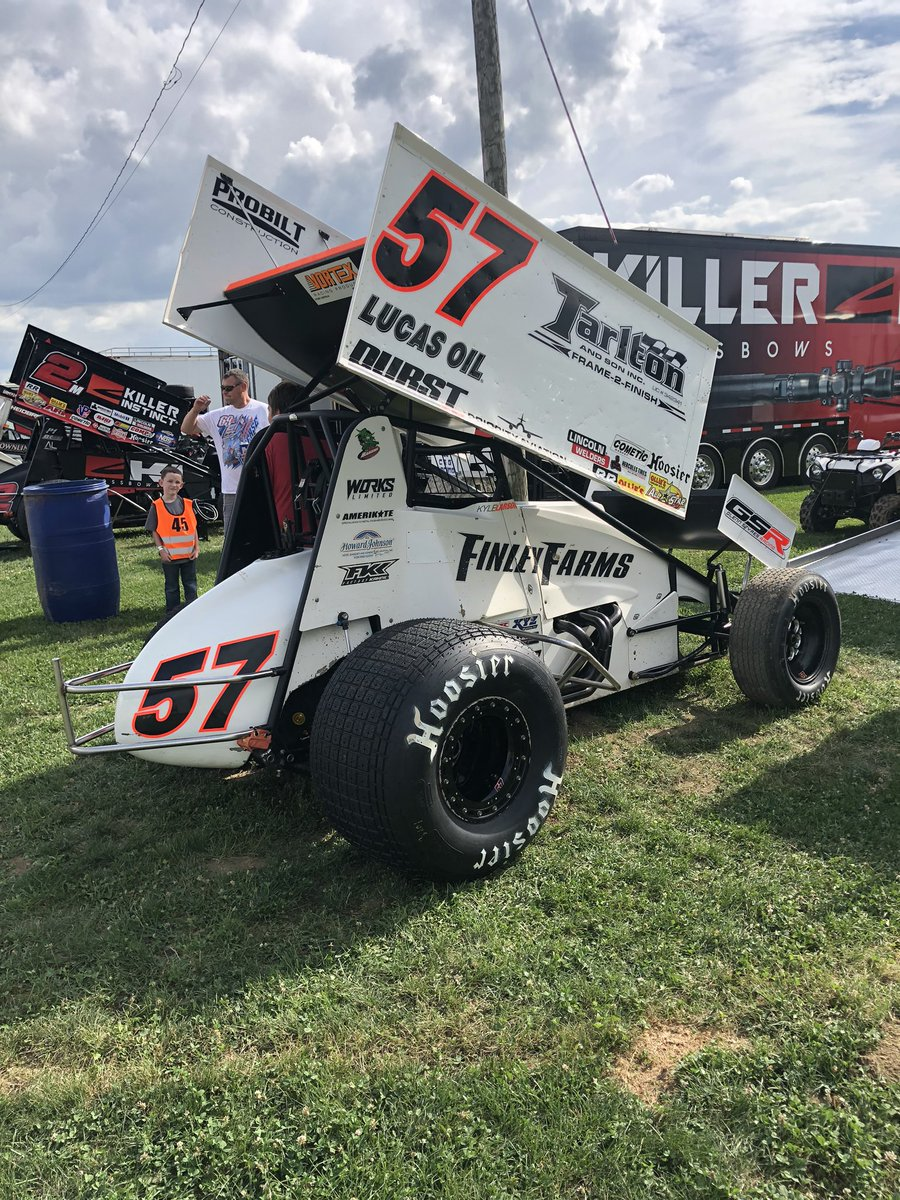Kyle Larson has won his last 6 #OlliesAllStars races he has entered and won our last 5 events. He looks to keep the streak alive tonight at @34Raceway. It's also his birthday today! Watch the races LIVE on @FloRacing if you can't get here.