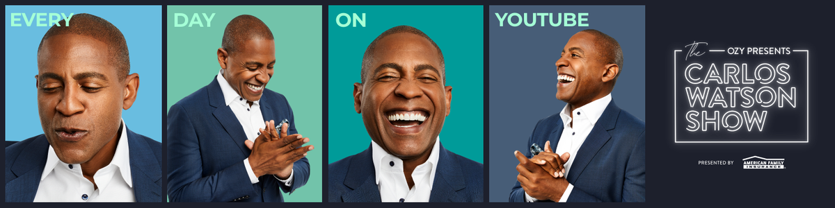 I'm super pleased to share with you my new TV show called: The #CarlosWatsonShow. Describe it? Bold. Smart. Curious. Can't wait for you to join! For a sneak peek & behind-the-scenes, insiders go here:   #tvshow #hopeforthefuture #joinus #seemore