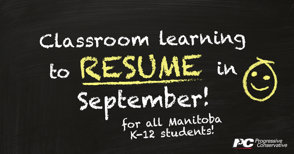 test Twitter Media - The province is welcoming students back to classrooms for the new school year, while working closely with school divisions and Public Health.   Get more details: https://t.co/QaEGOxCzAW  #mbpoli #MovingManitobaForward https://t.co/4d8NpdffV2