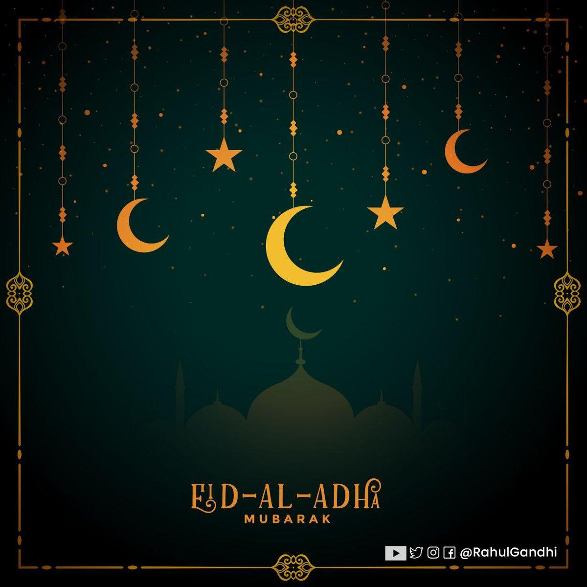 आप सभी को ईद अल-अज़हा मुबारक।  Greetings for Eid al-Adha.