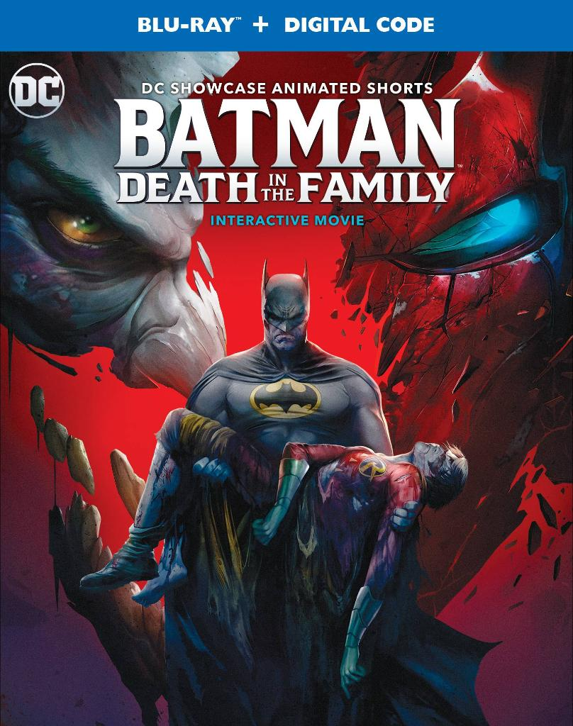 Here's the box art for Batman: Death in the Family 🦇