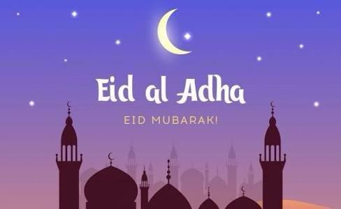 Eid Mubarak to everyone #EidAlAdha.