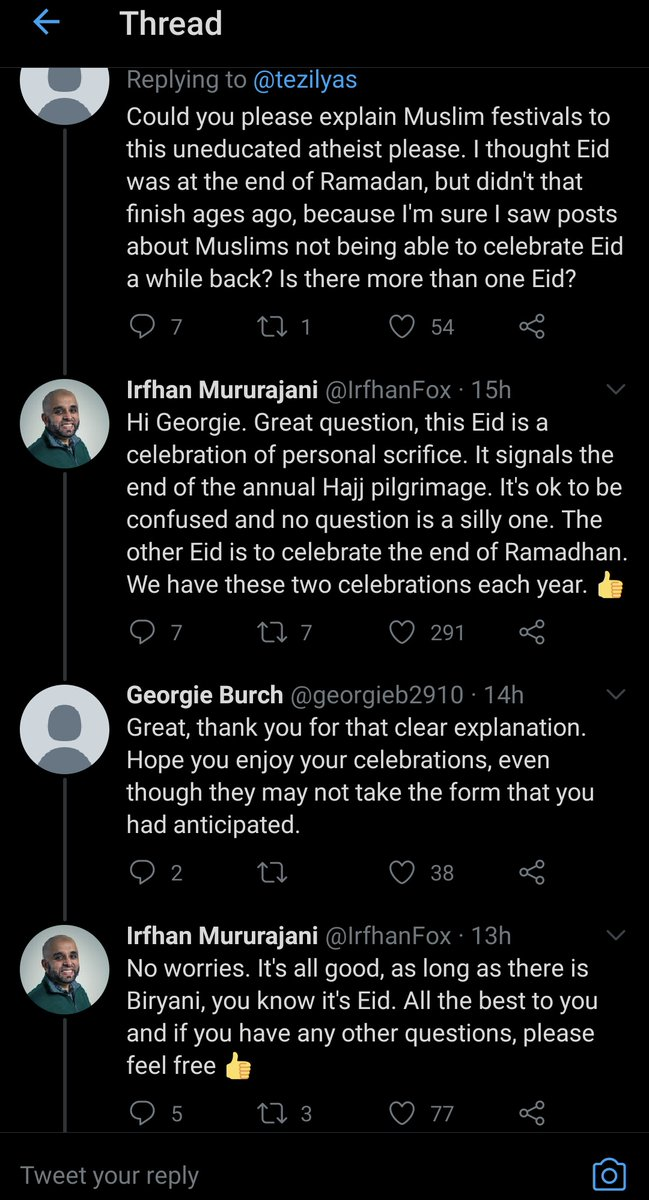 So rare to see such politeness on this hell website