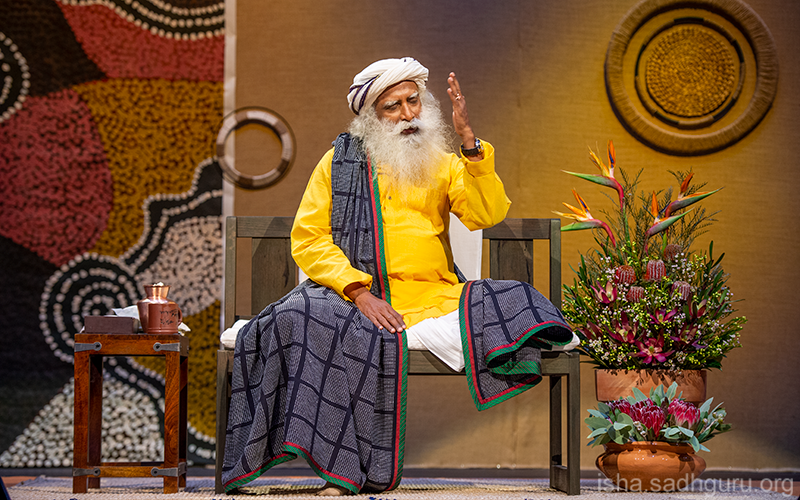 This is a good time to break the status quo of who you are and see if you can transform yourself into a better human being. #SadhguruQuotes