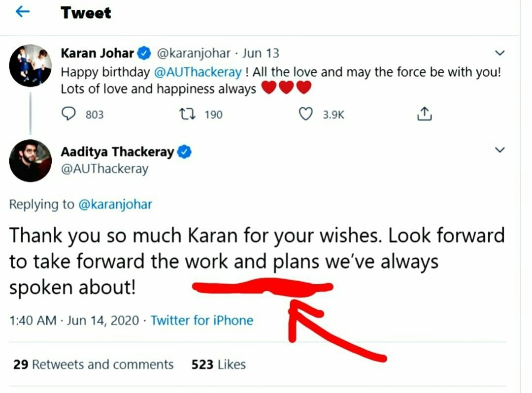 #UddhavResignOrCBI4SSR Look at date of tweets  .I don't know what the work and plans for that #adityathackeray is worrying to look forward 🤐🤐