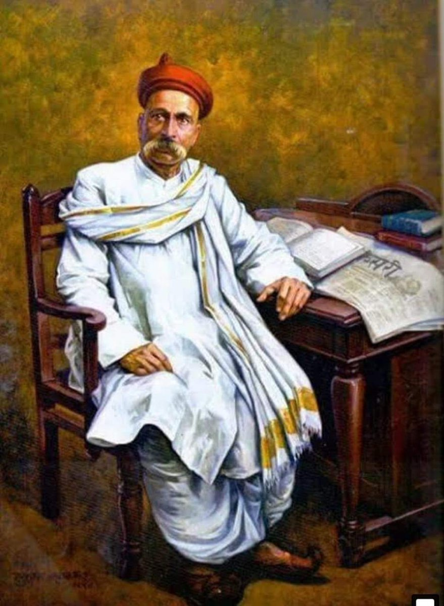 """On his 100th punyatithi,we bow in respect to d great freedom fighter & social reformer Lokmanya #BalGangadharTilak,whose clarion call """"Swaraj is my birthright,& I shall have it"""" spearheaded d freedom movement.  As our tributes to him,let's strive to make our Swaraj : a Su-raj-ya."""