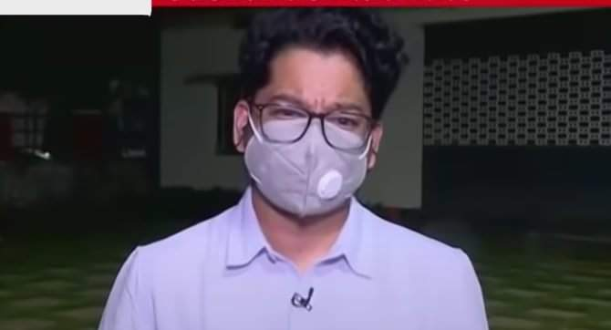 LIAR Siddharth Pithani,  Search some other market in Hyderabad and find a mask bigger than this one to hide your face.  You will be probed until you reveal the truth! #ShameOnMumbaiPolice #SushantSinghRajput #UddhavResignOrCBI4SSR