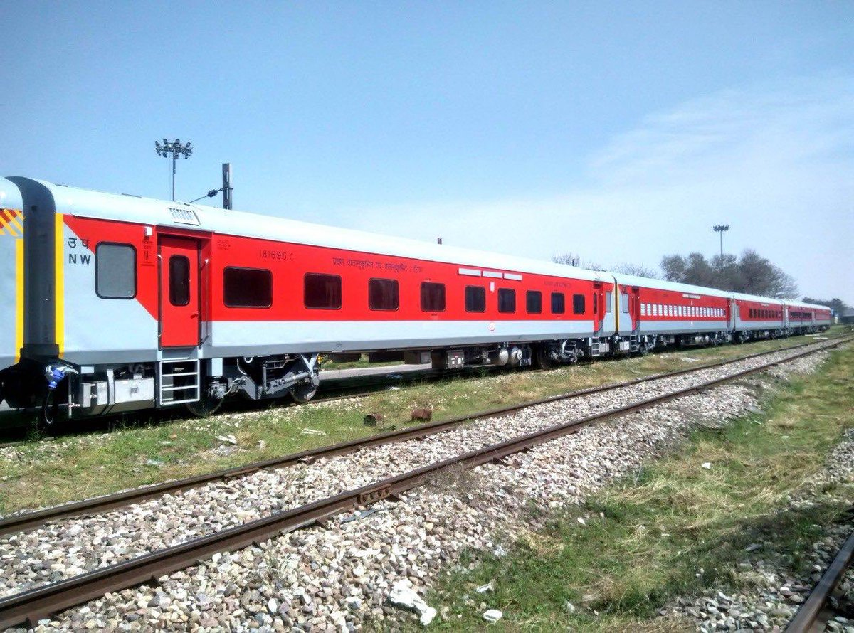 Production of safer LHB coaches- Yet another 'Make in India' Success Story!   Rail Coach Factory, Kapurthala sets a record by producing 151 LHB coaches in July'20, thrice the production of July'19.  Boosting job creation, this is its highest ever monthly production.