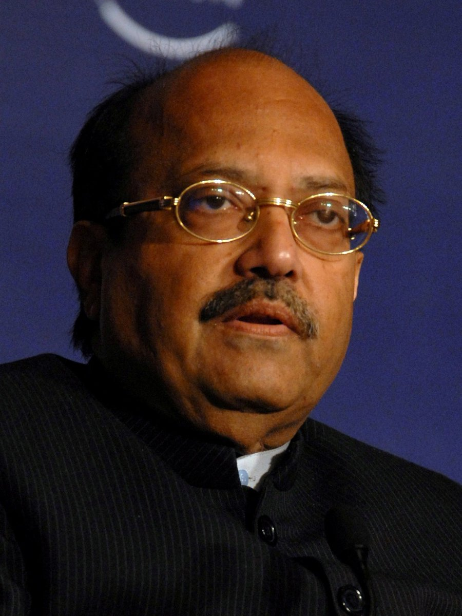 Anguished to hear about the sudden demise of Shri #AmarSingh Ji, Rajya Sabha MP, former Samajwadi Party leader. May his soul #RestInPeace. My Condolences to the family.