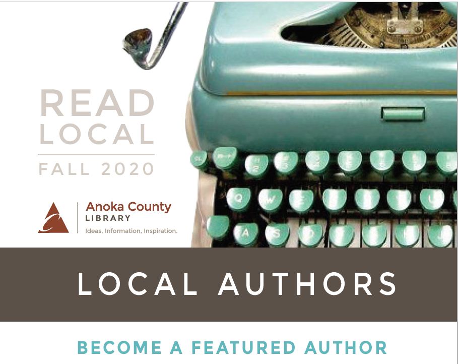 Are you a local author interested in having your work promoted by the library? Apply to be one of our featured writers in this fall's Read Local Program: