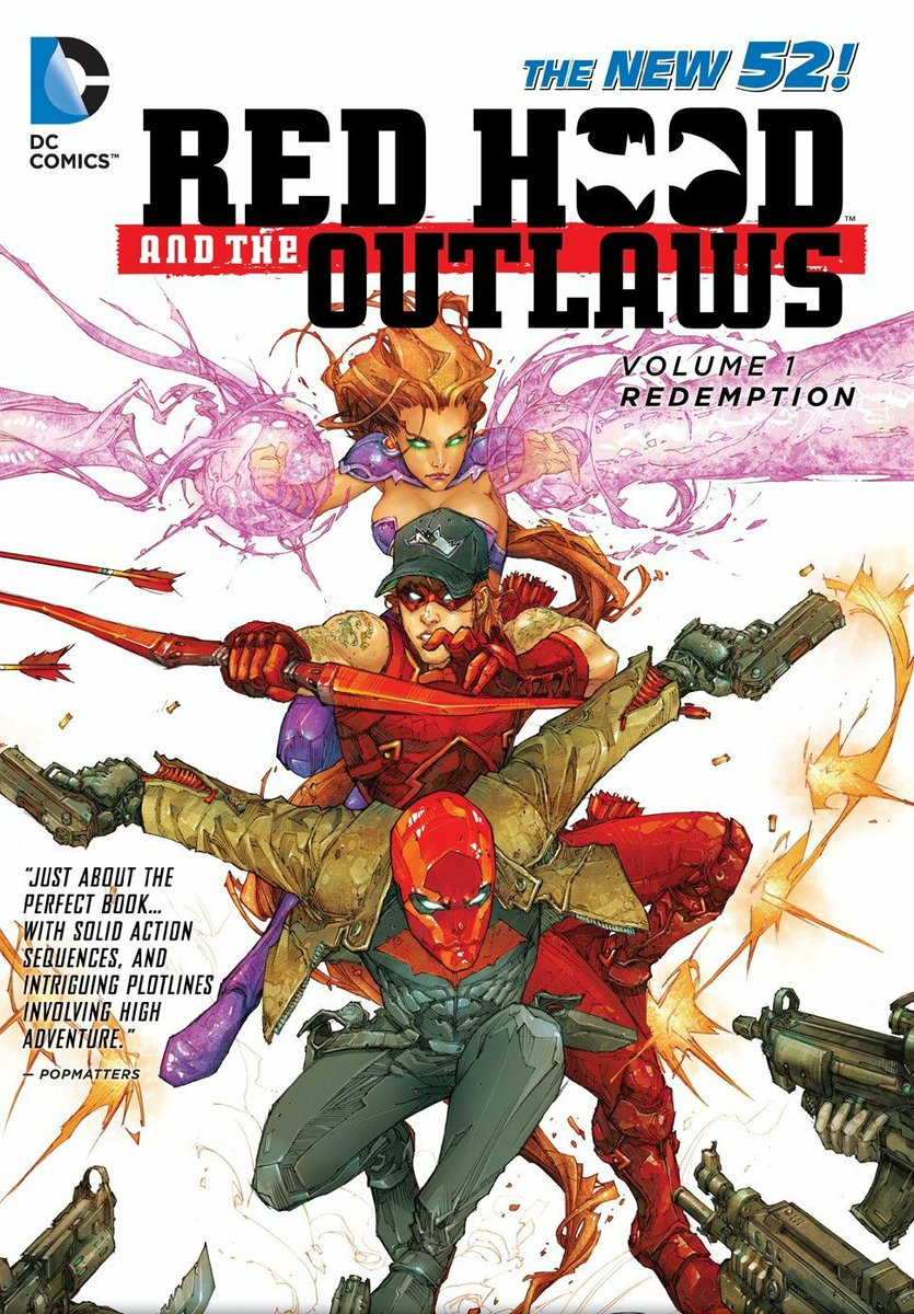 Let's Read Red Hood and The Outlaws (2011) Thread:  Time to refresh/update my opinions of this book.