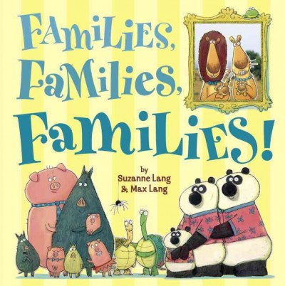 Did you know August is #FamilyFunMonth?   In this title, a host of animals teaches your little one about the many different types of families that are out there with fun pictures and rhymes!