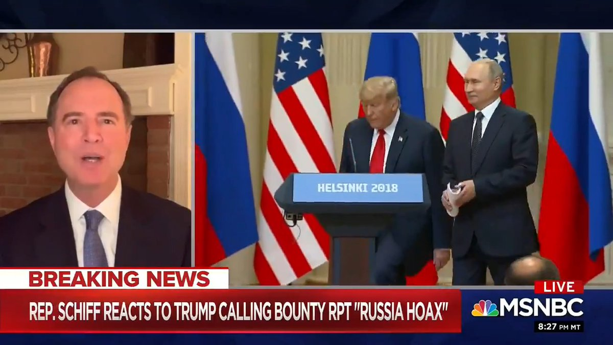"""The Presidential Daily Brief is the gold standard for intelligence analysts— a """"hoax"""" would never be included.  When Trump says that threats against American troops don't make it to his desk, he's just lying.  Trump can't provide national leadership, only dangerous excuses."""