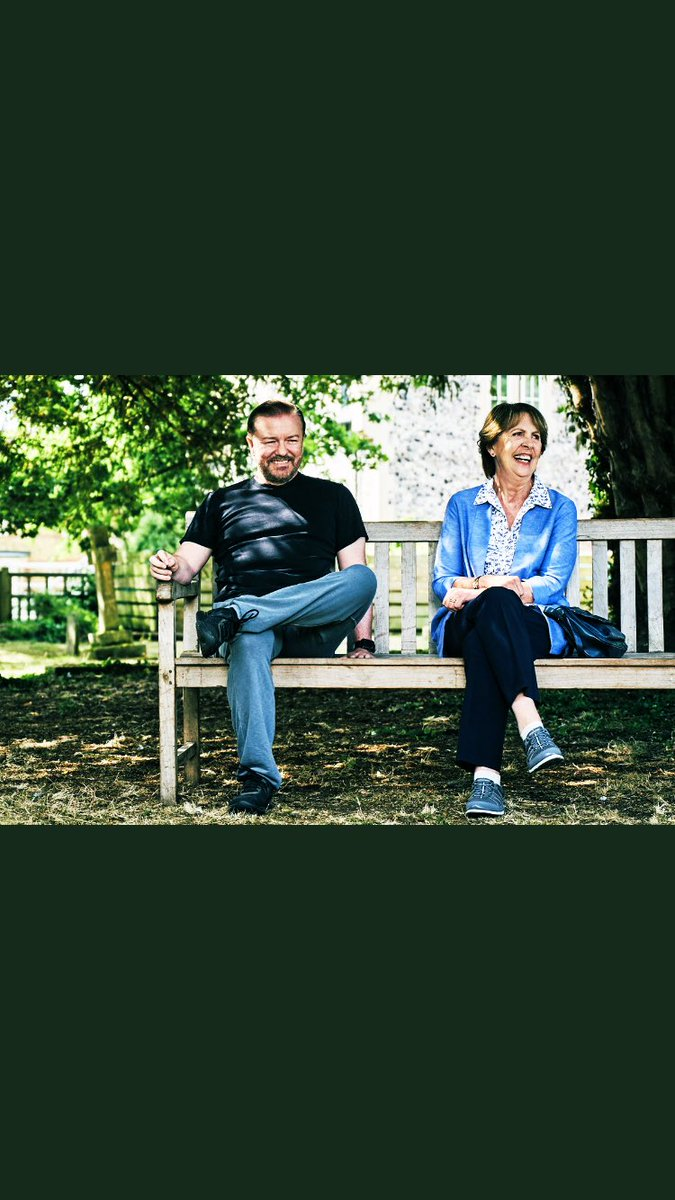Thanks for all your lovely tweets about #AfterLife still flooding in, particularly all of your own stories of grief and loss and how you identified with the themes of the show. Stay strong 🙏