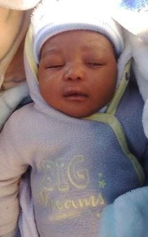 ABDUCTION : BLOEMSPRUIT CLINIC. BLOEMFONTEIN. FS. 2MTH OLD BABY ABDUCTED BY FEMALE DRESSED IN A WHITE PULLOVER -BLACK STRIPES, BROWN PANTS & WHITE ALL STAR SHOES. IF U HAVE ANY INFO THAT CAN ASSIST TO FIND THE CHILD, PLS 📞W/O CORNÈ VAN ZYL 0834565683 OR CALL 0860010111