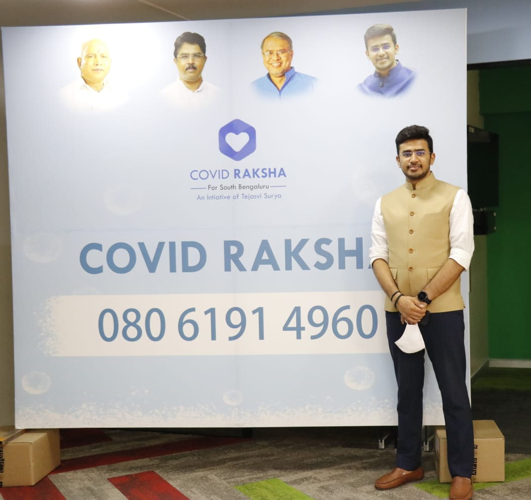 23 emergencies  83 doc consultations after testing +ve  232 doc consultations for reporting fever - reverted within 10 min  1190 WhatsApp enquiries  Glad to note #COVIDRaksha (080 61914960) is serving citizens to fullest extent  B'luru South, please spread the word!  (file pics)