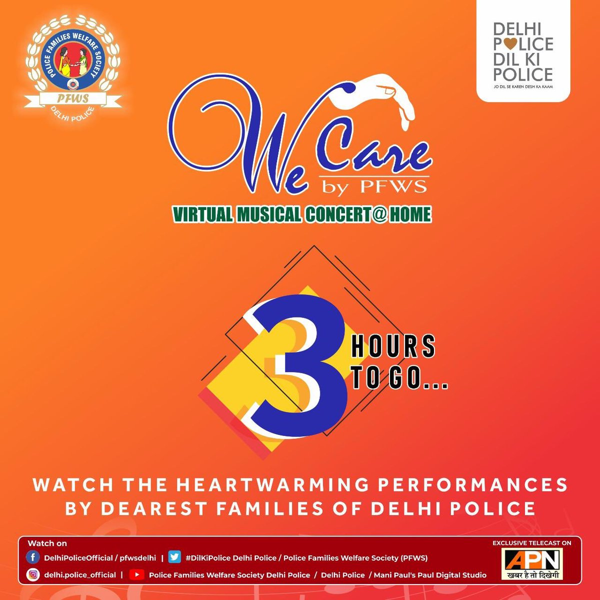 Watch the heartwarming performances by dearest families of Delhi Police in just 3 hours!