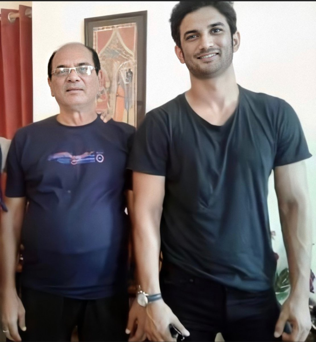 Our Dad... the person from whom we have learnt, how to be a fighter!! How to be eternally positive against all odds. He is our strength, our pride!! #OurDadIsTheBest #Warriors4SSR #JusticeForSushant #JusticeForSushantSinghRajput  #Godiswithus