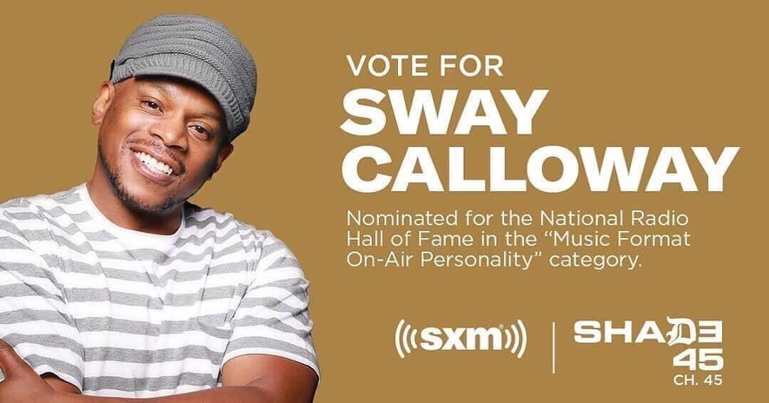 If anyone deserves to be in the National Radio Hall of Fame it's our old friend @RealSway! Hit the link to vote for him.  @Shade45