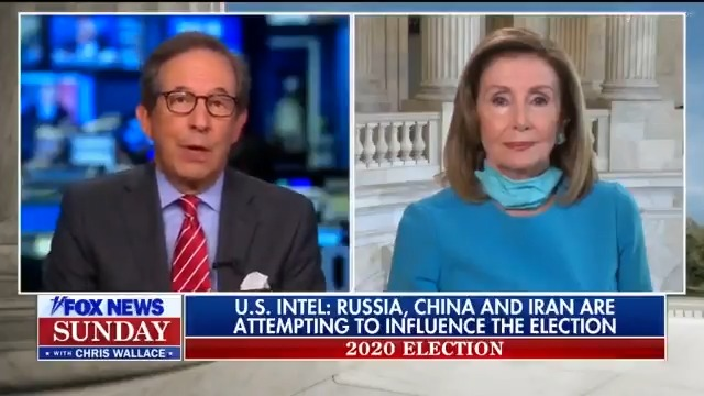 American voters decide American elections. The Intelligence Community must provide the people with the information necessary to understand how Russia is trying to influence the 2020 Elections. #FoxNewsSunday