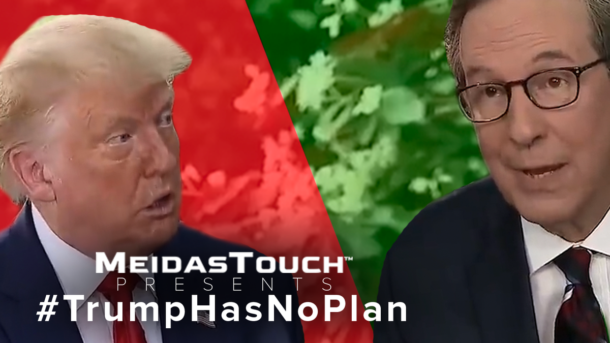 "Trump has no healthcare plan. Never has. Never will.   The only healthcare ""plan"" that @realDonaldTrump has is to TAKE AWAY our coverage.🤬  VOTE HIM OUT.  #TrumpHasNoPlan @MeidasTouch"