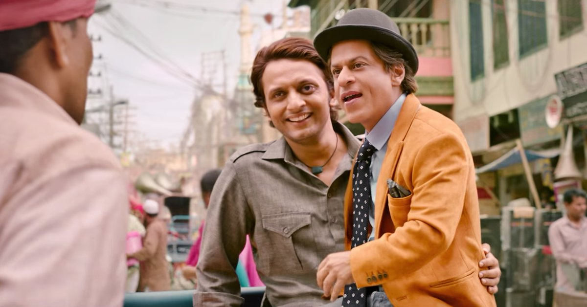 A friend who is always there to bear with all your antics, someone who provides you the strength to face your flaws & overcome your weaknesses....that's Guddu for Bauua! #ShahRukhKhan