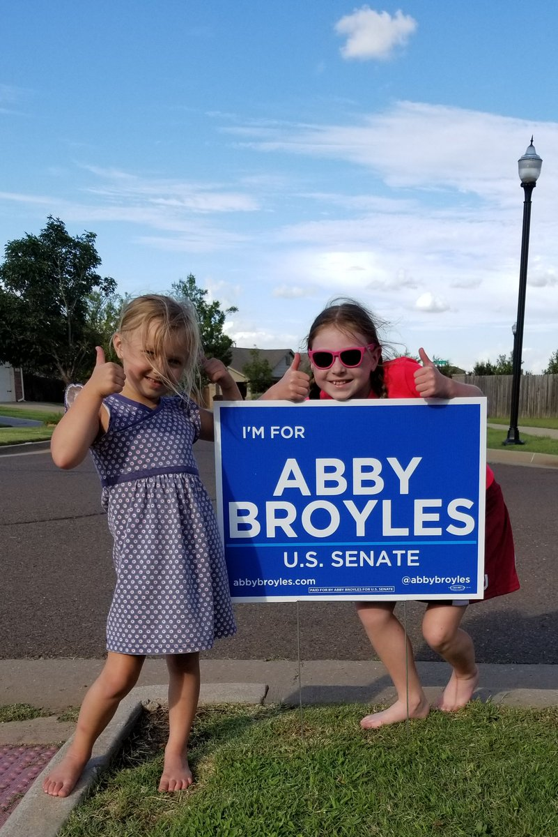 It's the 1st Sunday in August & our Senator still hasn't stood up for American troops, doesn't listen to constituents & uses his speakerphone at dinner. We're with @abbybroyles
