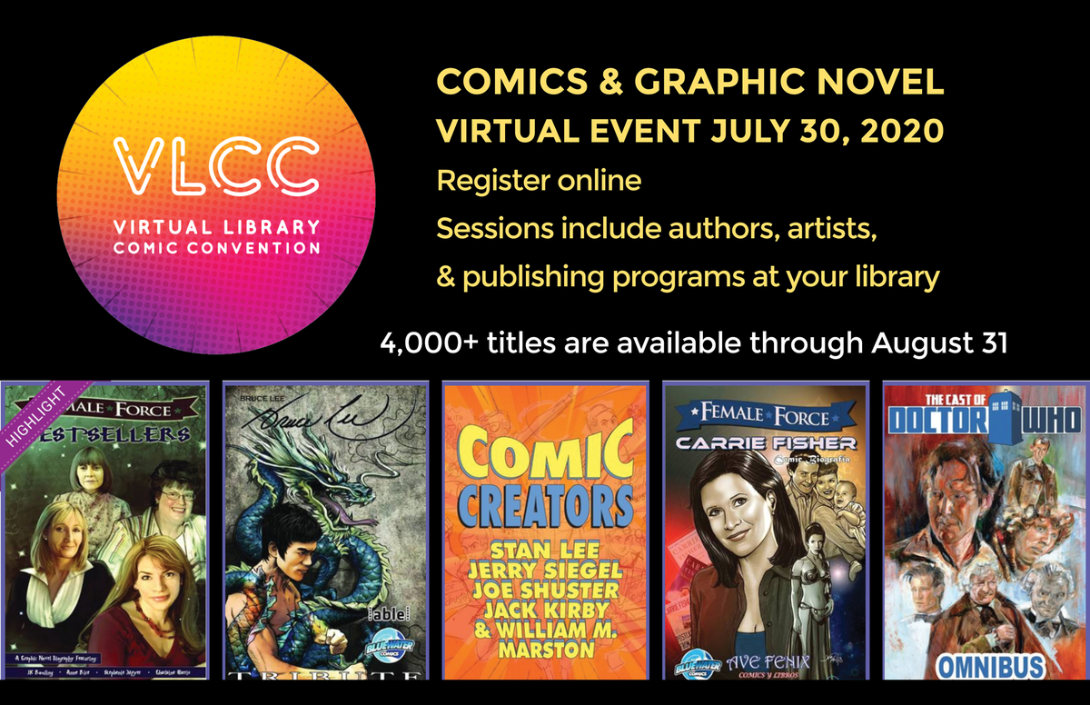 Are you a comics fan? Did you know that you have access to tons of comics online through the end of August? Over 4,000 titles are available to read online for free. Details here: