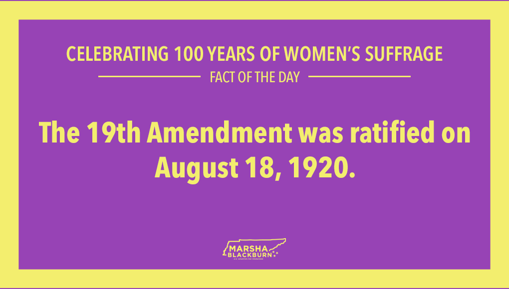 This year marks 100 years of women having the right to vote! #100YearsofWomensSuffrage