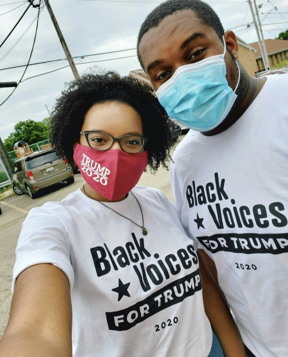 Selfie Game Strong! 📸   #BlackVoicesforTrump #Woke