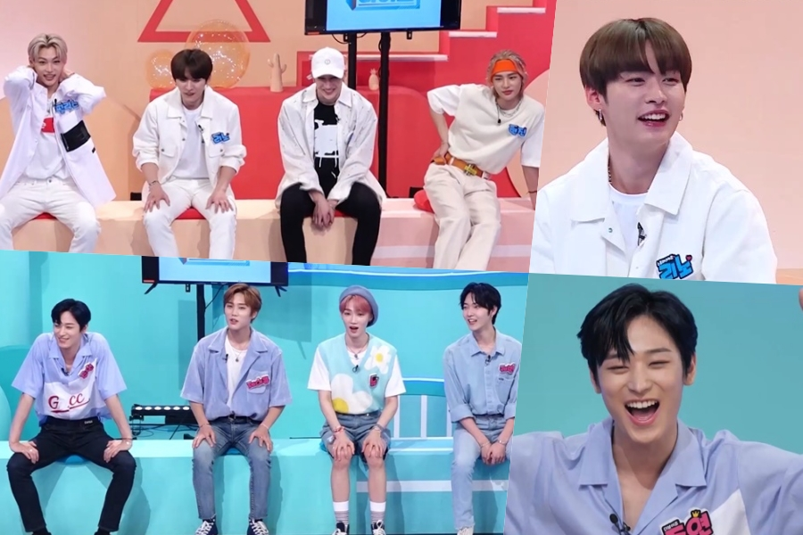 """WATCH: #StrayKids And #TheBoyz Face Off In """"Idol On The Quiz"""" Preview; MCs Tease #LeeKnow For Losing #Juyeon's Number"""