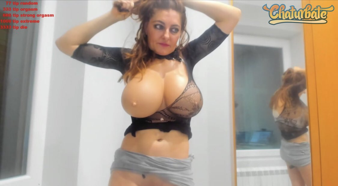 Super horny MILF slut Catty190 is ready to cum over and over again LIVE on webcam ➡️  😏