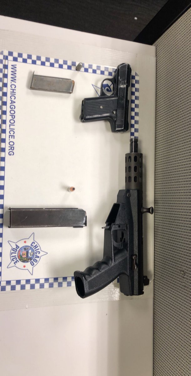 The 15th District Officers are always working to keep our community safe. On Monday Tact Team 1562 was able to make an arrest on 5800 W Walton while removing two more weapons off the streets of Chicago.
