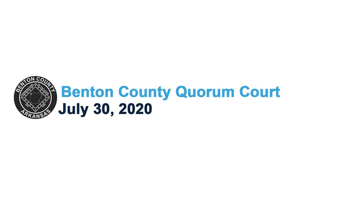 Here's the audio from the July 2020 Quorum Court meeting.