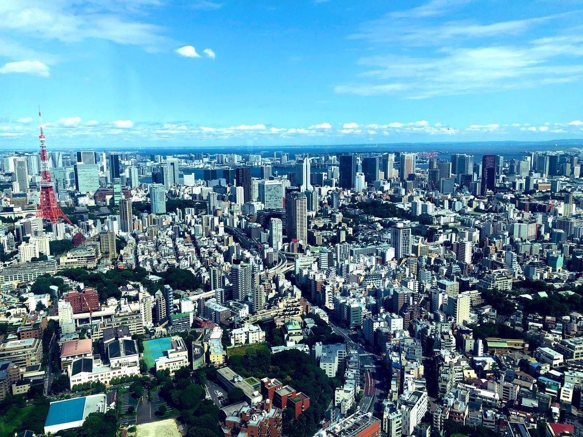 test ツイッターメディア - 高層ビルからみた週末の東京。すかっと晴れて、夕暮れは涼しくさわやかでしたね。朝生後の昼寝を終えて散歩に出かけたら、レストランが窓を開け放して通りにテーブルを並べていた。レモネードや冷えた白ワインを飲んでいる人がちらほら。美味しそう。 きょうから子どもは夏休み。さあ何しよう。 https://t.co/T1ztjN0is5