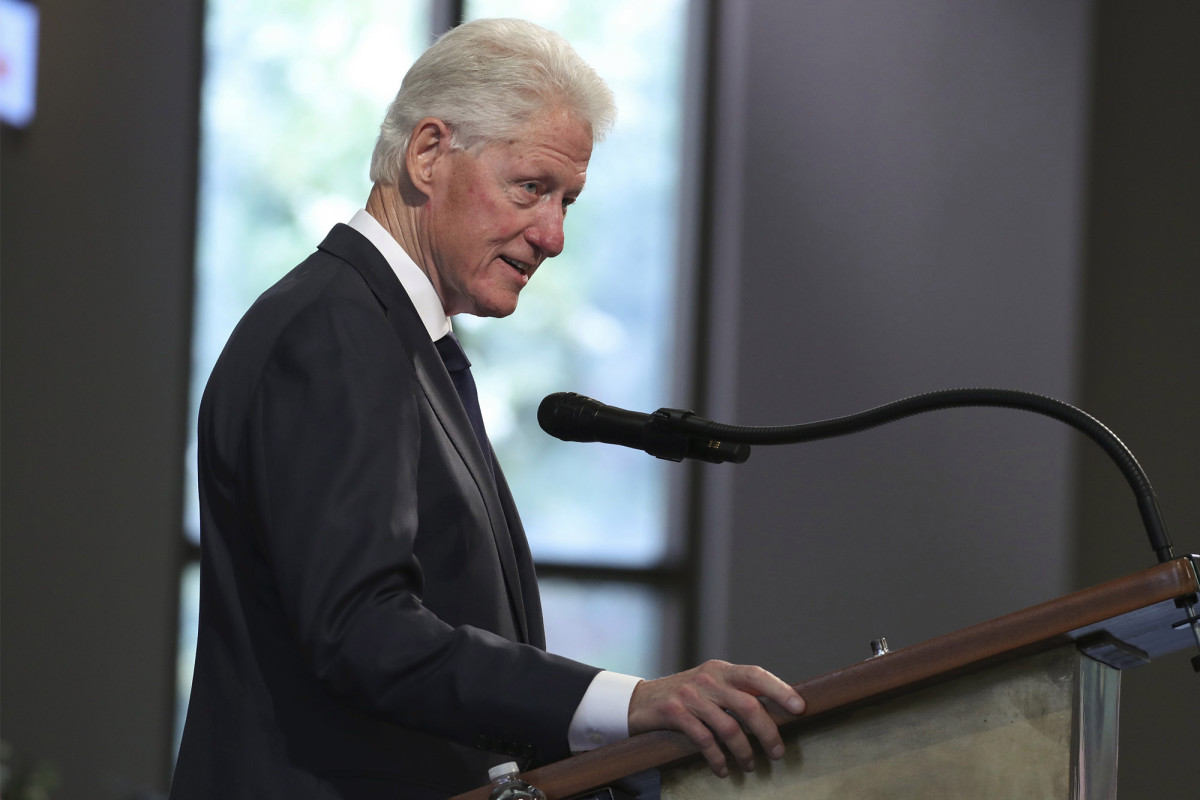 Bill Clinton denies visiting Jeffrey Epstein's private island