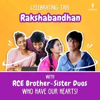 They protec. They attac. But most importantly, they love you bac. 😂❤️ Here's to all brothers and sisters! #HappyRakshaBandhan