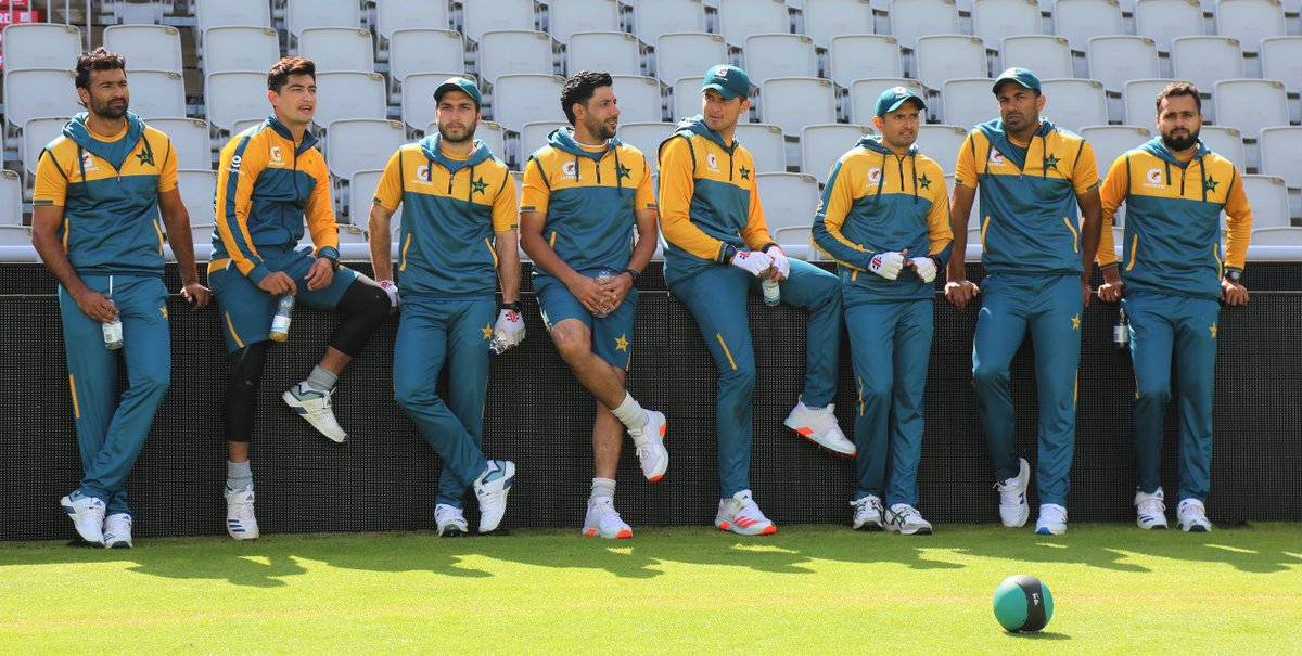 Will this pace pack deliver a series win for 🇵🇰 in England?  (Photo courtesy @TheRealPCB)