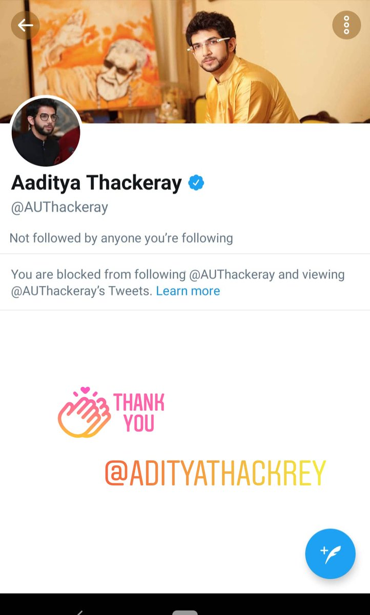 #adityathackeray when I see baby penguin is trending .I couldn't stop myself to post this .He blocked me.