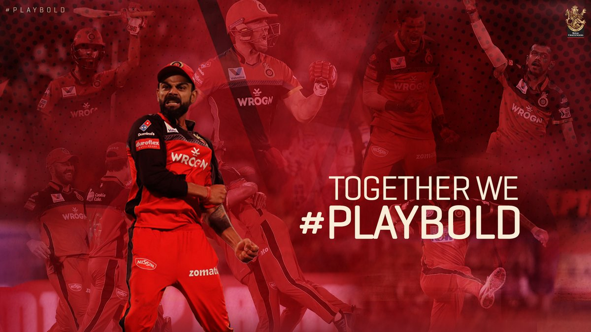 Coming together is a beginning, Keeping together is progress, Working together is success.   It's time to gather the Red and Gold Army and #PlayBold together! 🤜🤛  #WeAreChallengers #TogetherStronger #IPL2020