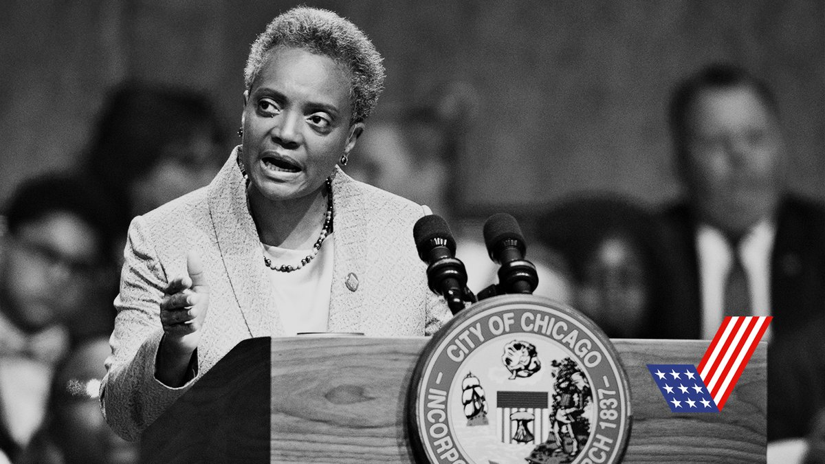 """The reality in America today is that we can't really rely...on the federal government."" On ""Checks and Balance"" @chicagosmayor Lori Lightfoot says cities are where policy is made"