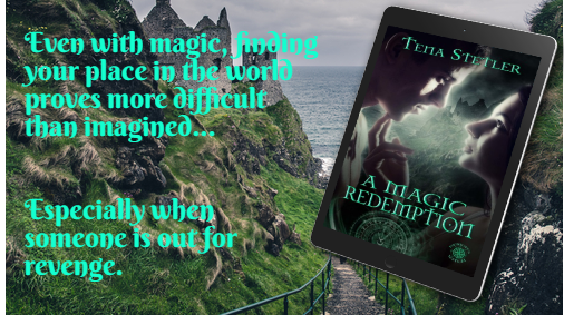 #MondayMood - A Magic Redemption - Synn is a demon of extraordinary magic & power. Could she really be descended from the elite Guardians Guild made up of magical creatures formed over a millennium ago? #BookBoost #mustreatd #wrpbks #PNR #bookaholic #magic