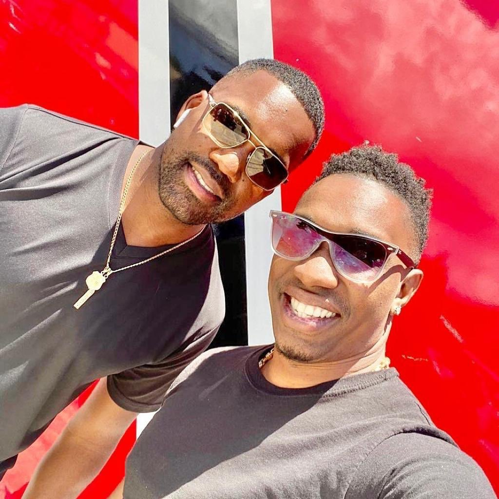 #CantWait for Mr. 46 and Mr. 47 back together in our #TKR colours ❤️🇹🇹  #TKR #TrinbagoKnightRiders #TrinidadAndTobago #Cricket #CPL2020 @DJBravo47 @DMBravo46