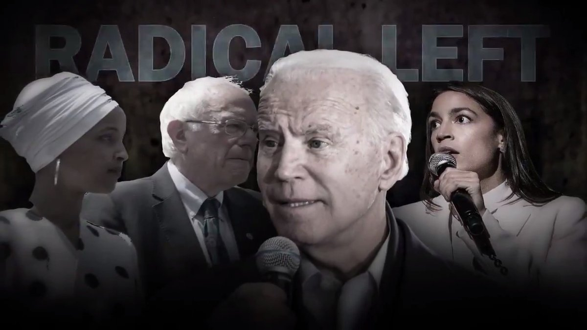 ICYMI from yesterday - @TeamTrump's latest ad is 🔥🔥🔥  The radical left has taken over Joe Biden and the Democrat Party. Don't let them take over America.