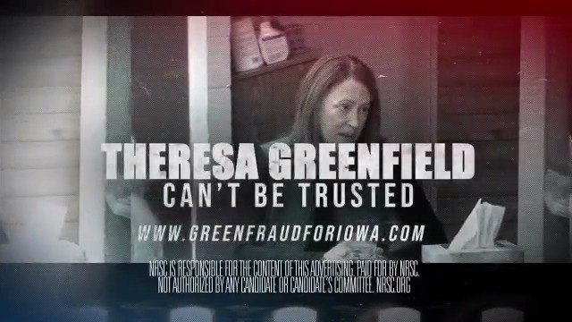 🚨 U.S. Senate candidate Theresa Greenfield's company kicked Iowa small businesses to the curb...  ... Now she is scrubbing her campaign website to try to cover up her record.   New from the @NRSC in Iowa this morning -->  #IAsen