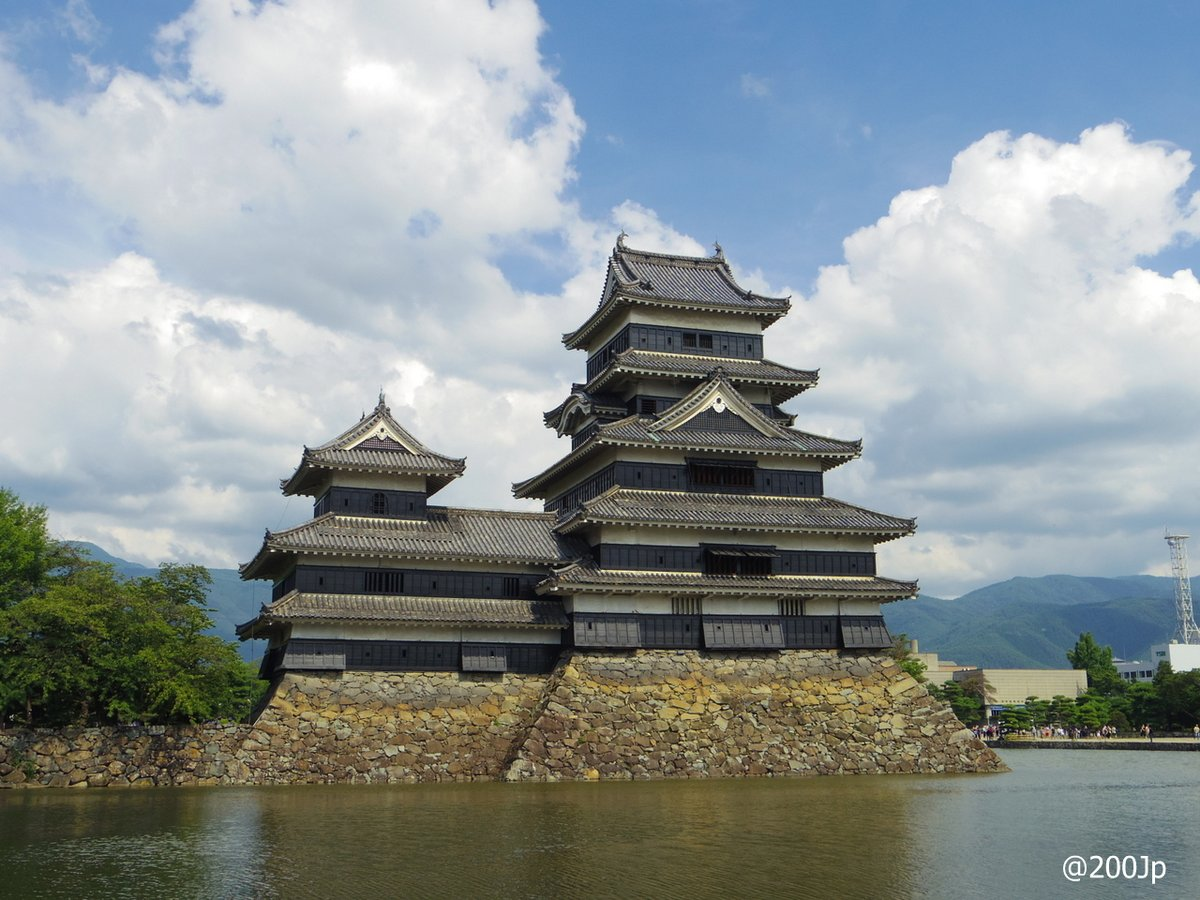 No.29 Matusmoto-jo #castle Exisiting Donjon 国宝松本城  #nationaltreasure #matsumoto
